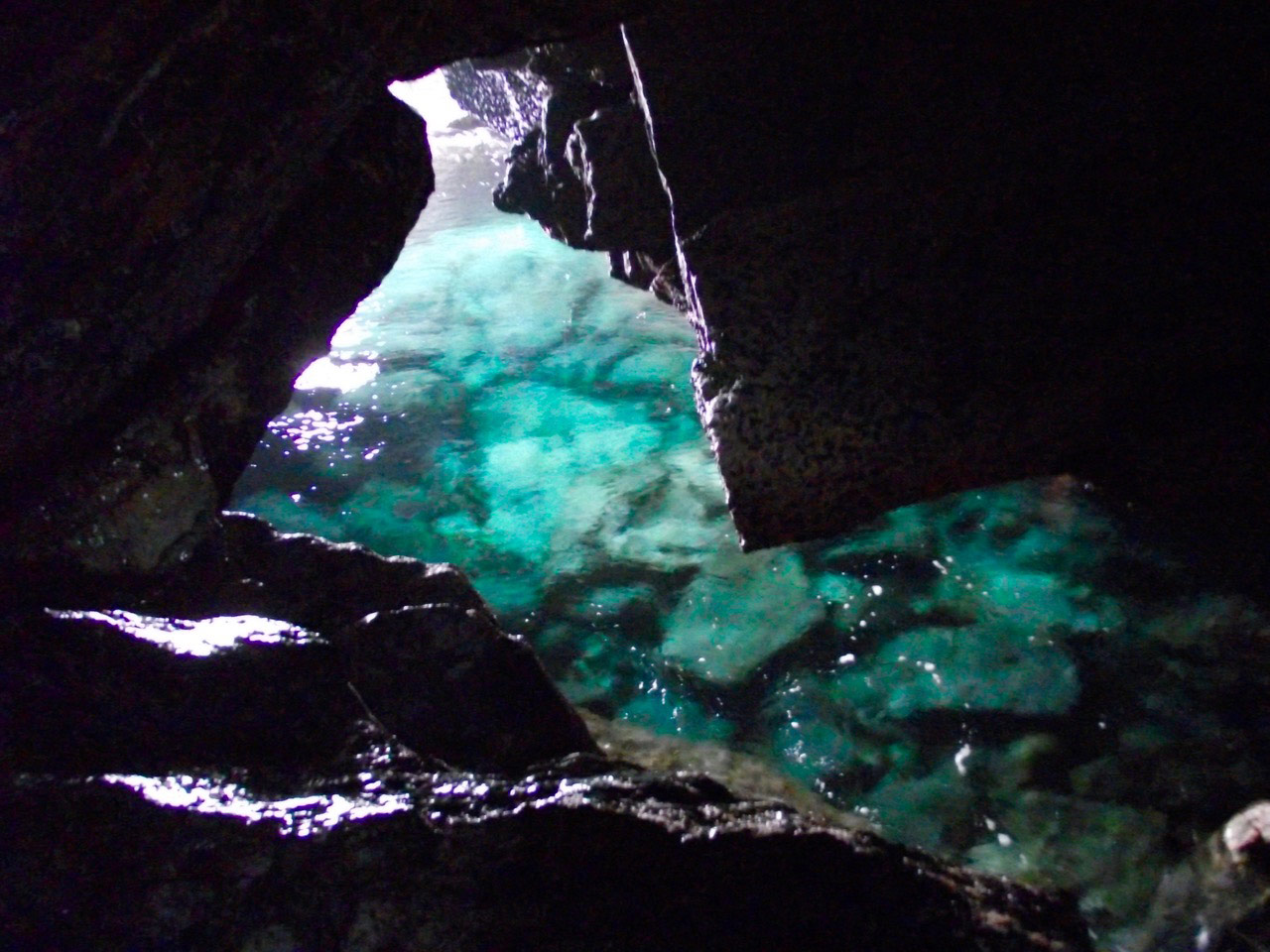 Blow Hole Cave